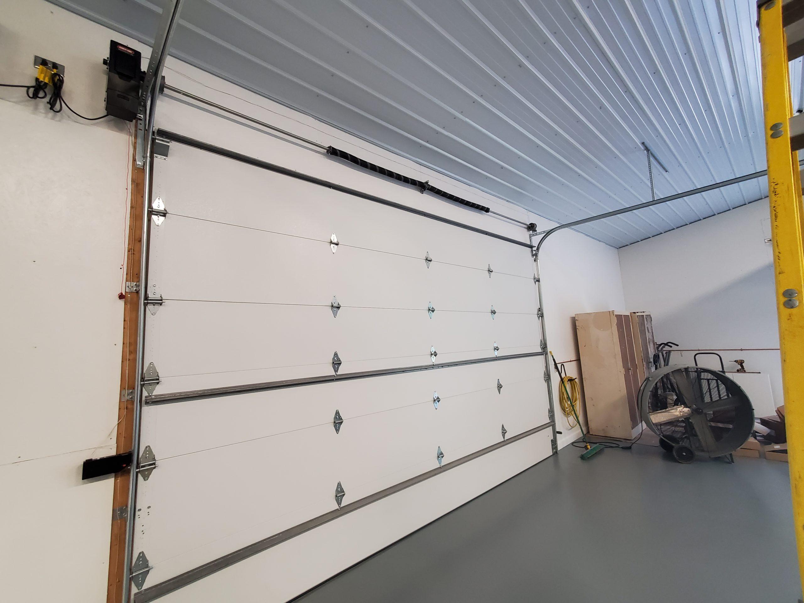Louisville Home Garage Door interior